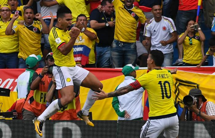 Selección Colombia: Radamel Falcao regresó al gol