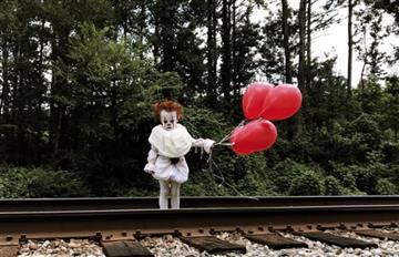 Viral: Fotos de un niño de 4 años con un impactante disfraz de payaso asesino