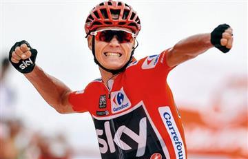 Vuelta a España: Chris Froome se quedó con la crono