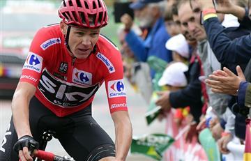"""Chris Froome: """"Es más difícil ganar la Vuelta que el Tour"""""""