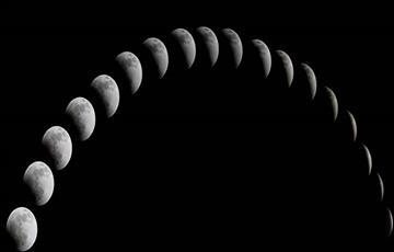 Fases de la Luna en septiembre del 2017