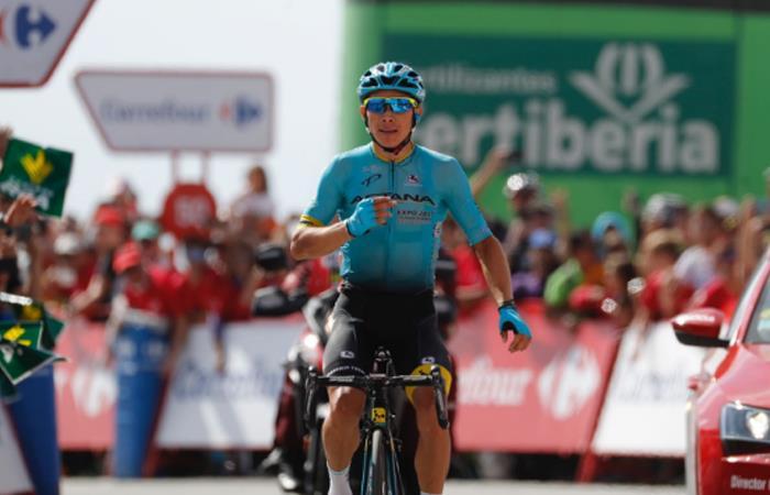 Miguel Ángel López: 'Nunca he pensado en el podio, estoy disfrutando'