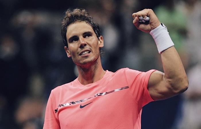 Nadal, Federer, Del Potro y Rubleva cuartos del US Open
