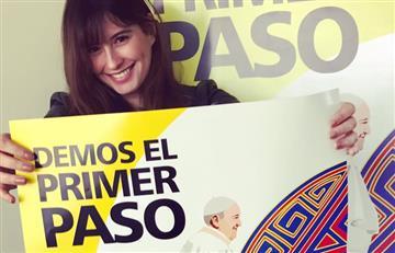 Papa Francisco: Taliana Vargas será presentadora de la misa en Bogotá