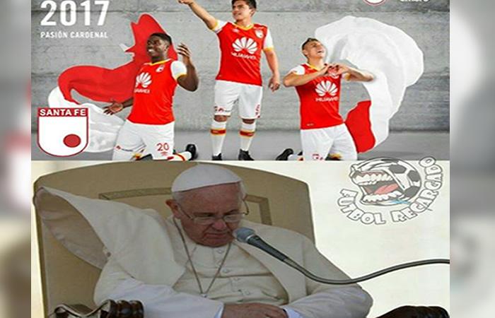 Papa Francisco y los mejores memes de la Liga Colombiana