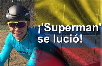 Vuelta a España: Miguel Ángel López se volvió a lucir en la etapa 17