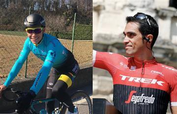 Alberto Contador afirmó que tenía que seguir a Miguel Ángel López
