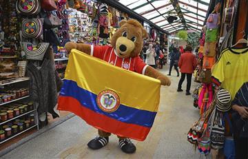 Bayern Múnich: La mascota oficial del equipo se enamoró de Colombia