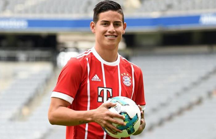 James con Bayern pero sigue facturando millonadas con el Real