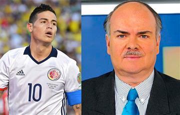 James Rodríguez: ¿Iván Mejía se burló de la tartamudez del colombiano?