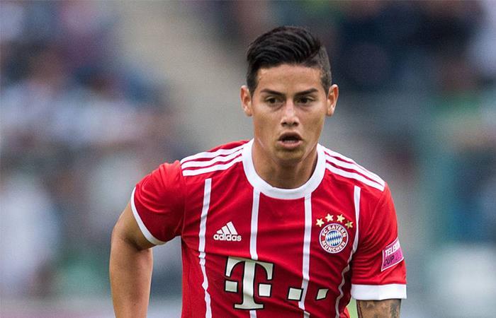 James Rodríguez por fin podría debutar en la Bundesliga