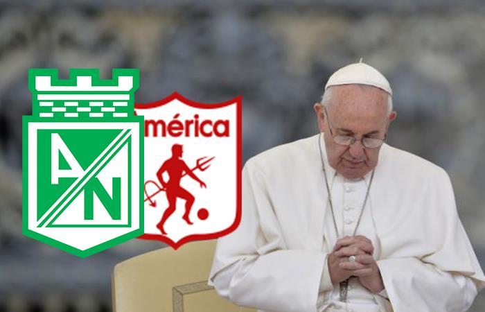 Papa Fancisco: 'Una final entre Nacional y América es motivo para estar juntos'