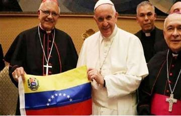 Papa Francisco se reunió con obispos venezolanos