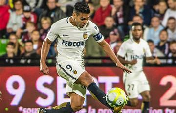 Radamel Falcao García jugará con el Mónaco ante el Niza