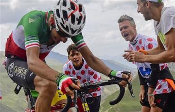 Vuelta a España: Fabio Aru quiso sorprender a los favoritos en la etapa 18