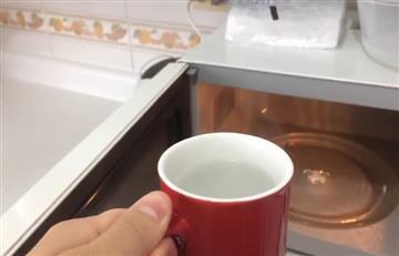 Calentar el agua en el microondas ¿es malo para la salud?