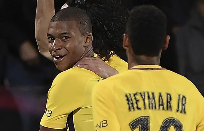 Neymar y Mbappé, la sensación en la goleada del PSG