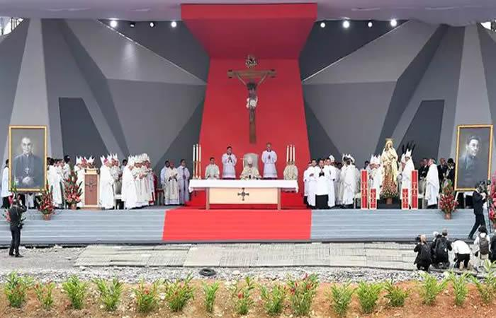 Papa Francisco beatificó a dos colombianos
