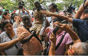 Papa Francisco: En Villavicencio ya está el Cristo mutilado de Bojayá