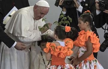 """Papa: La paz en Colombia """"será un fracaso"""" si no hay reconciliación"""