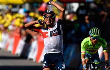 Vuelta a España: Jarlinson Pantano, el mejor colombiano de la etapa 19