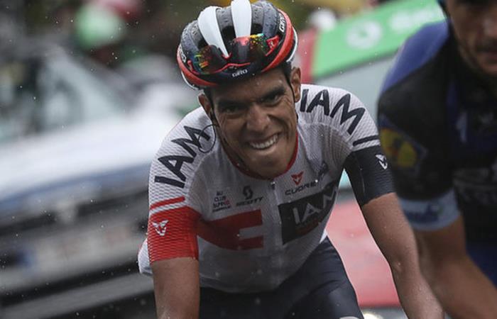 Vuelta a España: Los colombianos se lucieron en la etapa 19