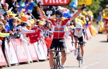 Vuelta a España: Thomas de Gent se impuso ante Froome