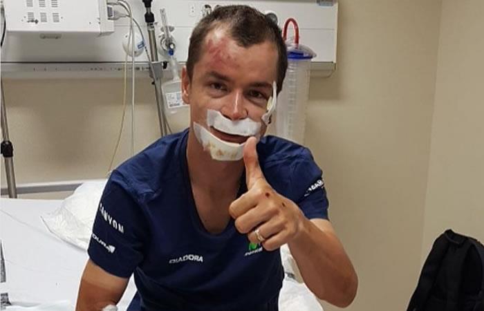Carlos Betancur muestra sorprendente recuperación tras caída en La Vuelta