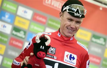 """Chris Froome: """"Haber logrado el doblete Tour-Vuelta es una gran sensación"""""""
