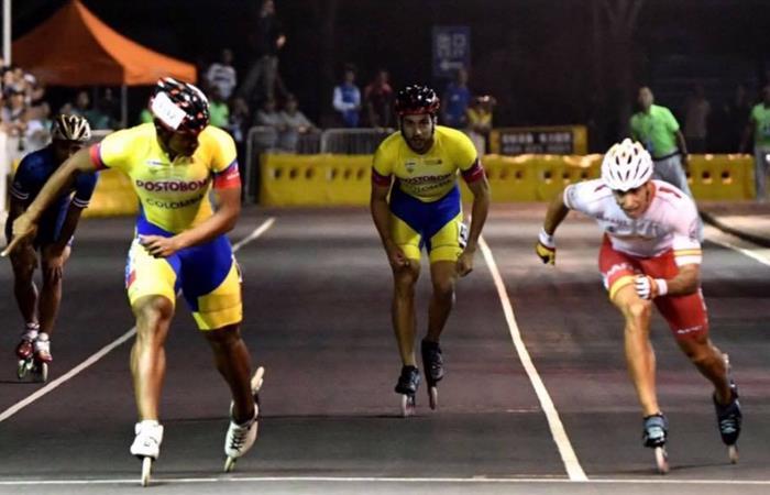 Selección Colombia de Patinaje campeona en los World Roller Games