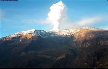 Sismo de 3.0 sacude al volcán Nevado del Ruiz