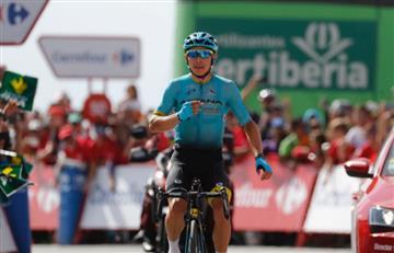 Vuelta a España: Miguel Ángel López el mejor colombiano de la etapa 20