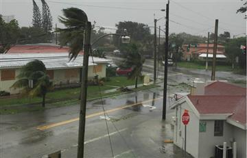 El huracán Irma inunda el centro de Miami