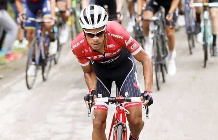 Jarlinson Pantano entre lágrimas habla de la salida de Alberto Contador