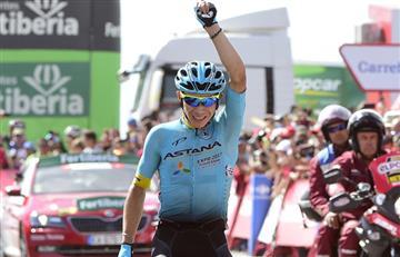 Miguel Ángel López dejó en alto el nombre de Colombia en la Vuelta a España