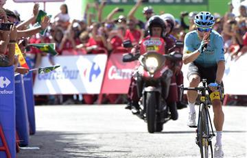 Miguel Ángel López y las emotivas palabras en el último día de la Vuelta a España