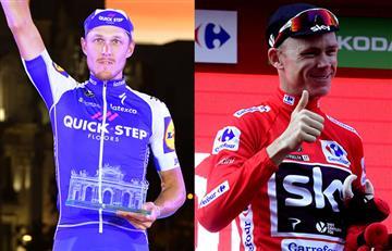 Vuelta a España: Matteo Trentin ganó la última etapa y Froome es campeón