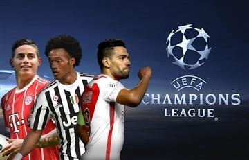 Champions League: Así jugarán los colombianos la primera fecha