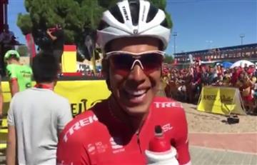 ¿Cuál es el plan de Jarlinson Pantano tras culminar la Vuelta a España?