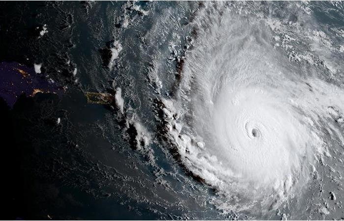 Huracán Irma: Meteorólogo de Kansas enfrenta el poder de la tormenta