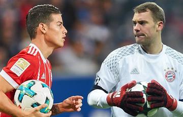 James Rodríguez: Manuel Neuer habló del colombiano y esto fue lo que dijo