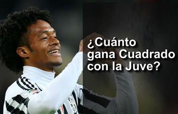 Juan Guillermo Cuadrado y el millonario sueldo que gana con la Juventus
