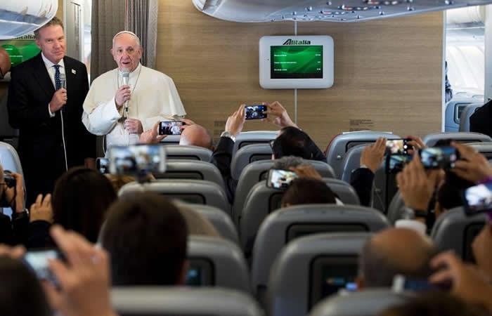 Papa Francisco acerca de Maduro: 'No sé qué tiene en su mente'