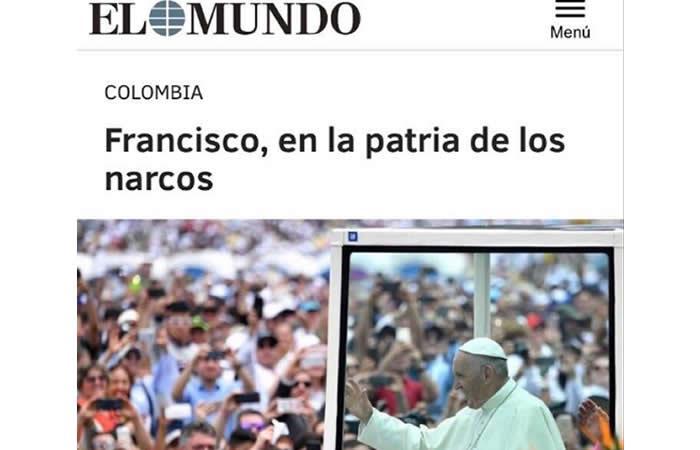 Periodista, que llamó a Colombia 'patria de los narcos', se disculpó