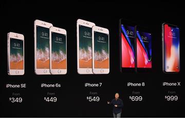 Apple presenta tres nuevos modelos de iPhone