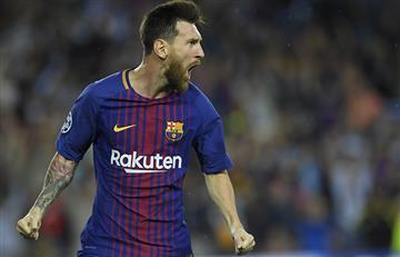 Barcelona gozó de un doblete de Messi y venció 3-0 a Juventus
