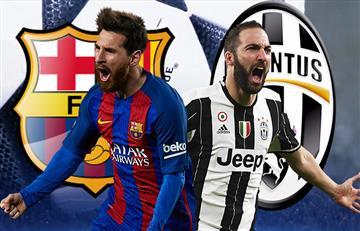 Barcelona vs. Juventus: Transmisión EN VIVO online