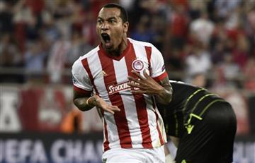 Champions League: Felipe Pardo anotó doblete en la derrota de Olympiacos