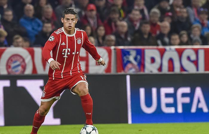 """James Rodríguez se siente """"feliz"""" y """"cómodo"""" con el Bayern Múnich"""