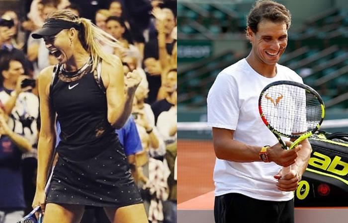 Sharapova y su inesperada respuesta tras críticas a Nadal por sus gritos